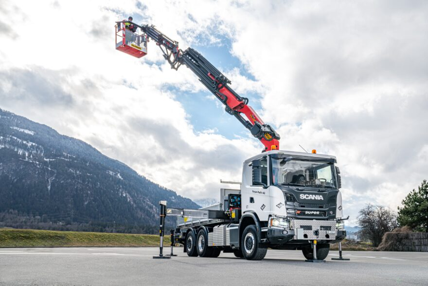 Lastwagenkran, Parpan Paulin AG