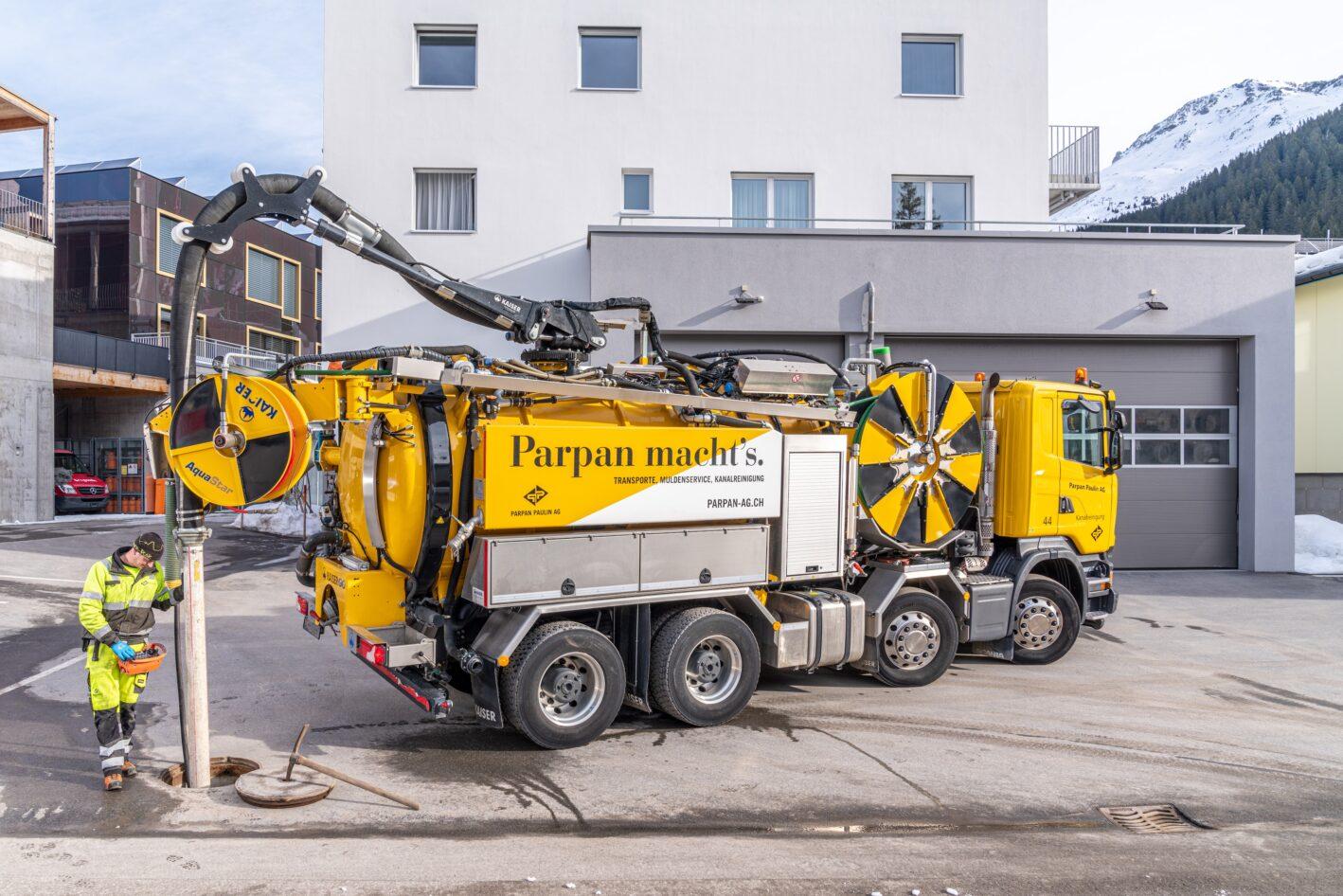 Saugarbeiten – Parpan Paulin AG