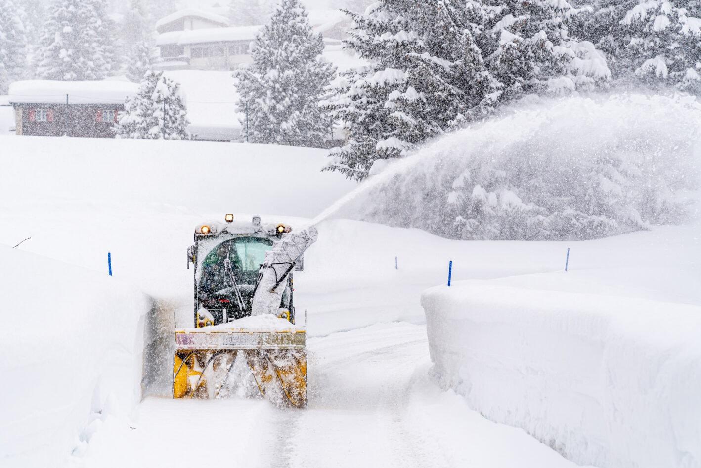 Parpan Paulin AG – Schneeräumung